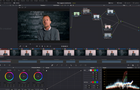 Dan Hastrey color grading